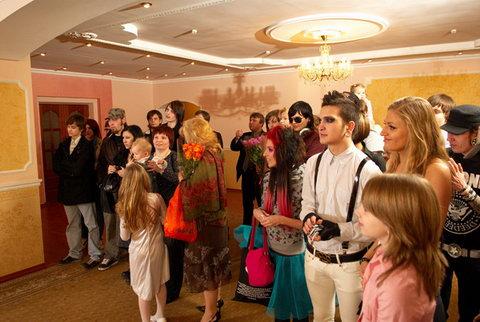Весілля у готичному  стилі