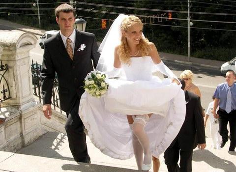 Пікантні фото наречених