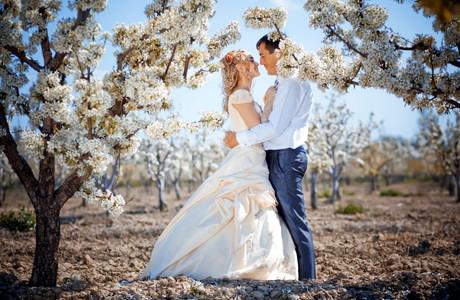 весілля навесні