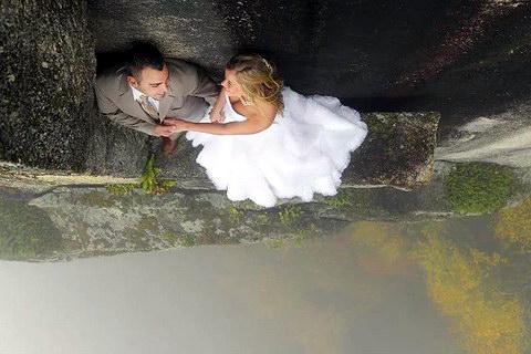Екстремальна весільна фотосесія