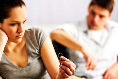 Головні причини розлучень