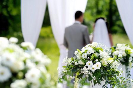 весілля в саду
