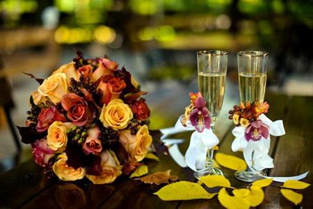 весілля восени