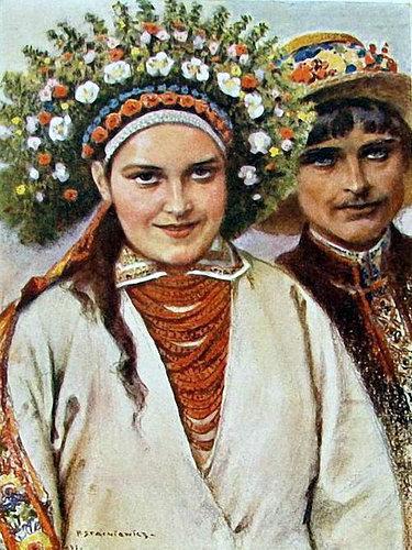 весільний одяг наречених Городка